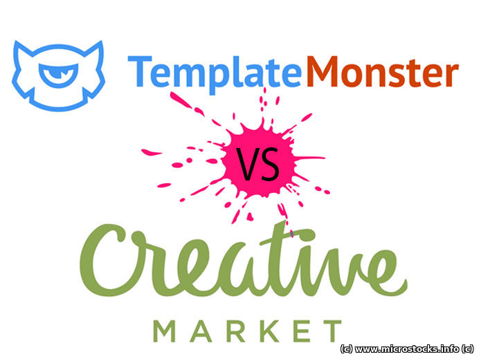 TemplateMonster vs. CreativeMarket. Ваш выбор